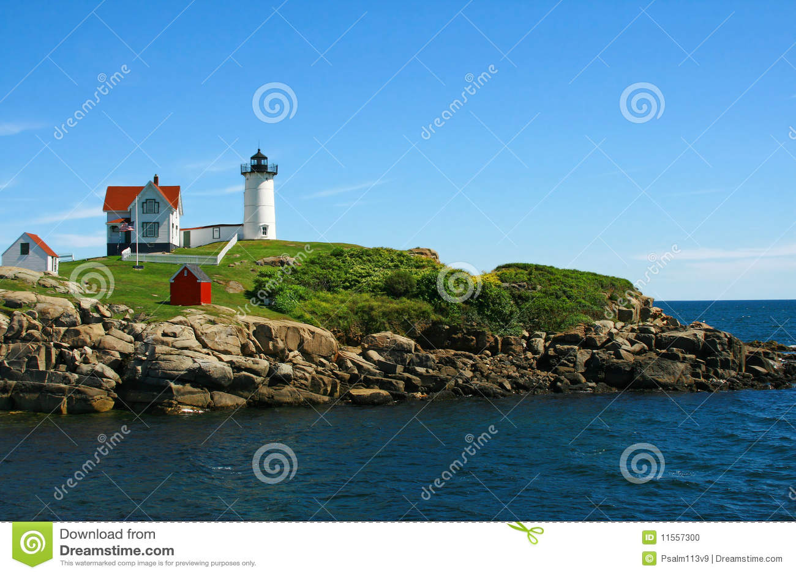 Klumpenleuchtturm Maine