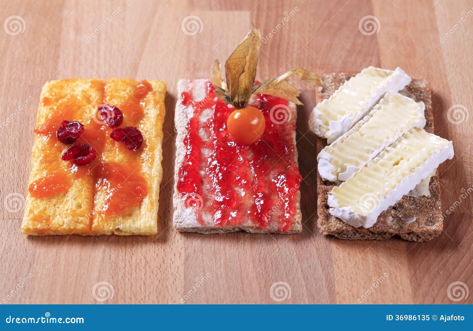 kalorier knäckebröd med smör och ost