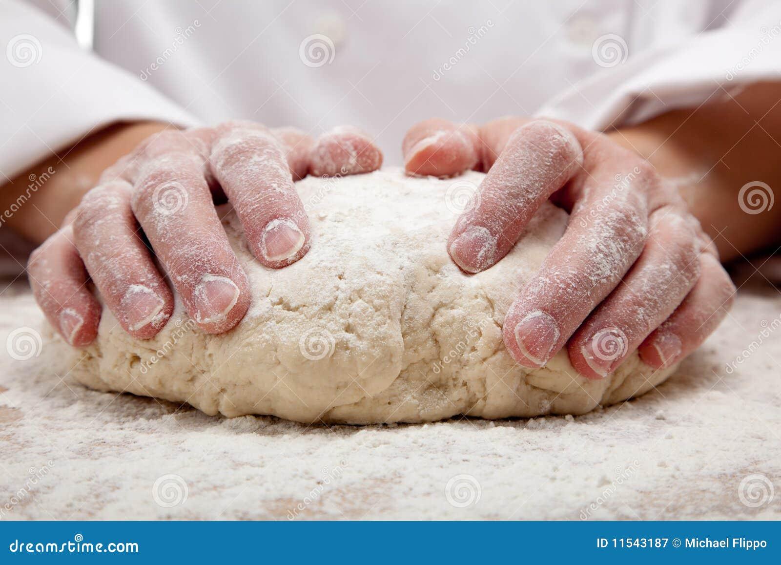 Knåda för bröddeghänder