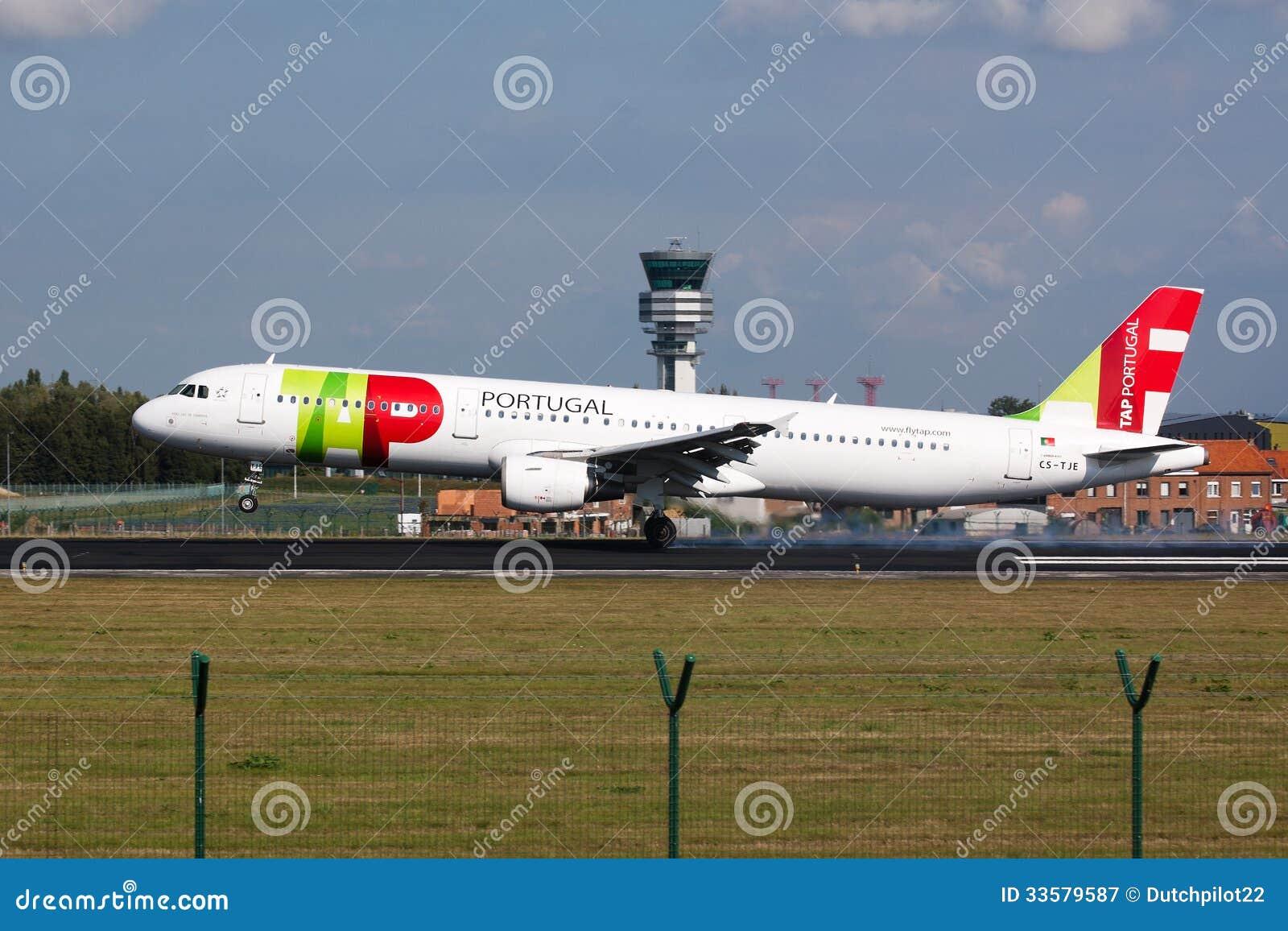 KNACKA LÄTT PÅ flygplanlandning