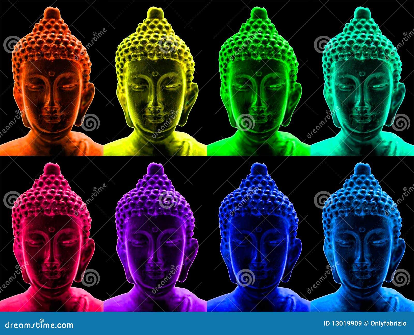 Knallkunst Buddha