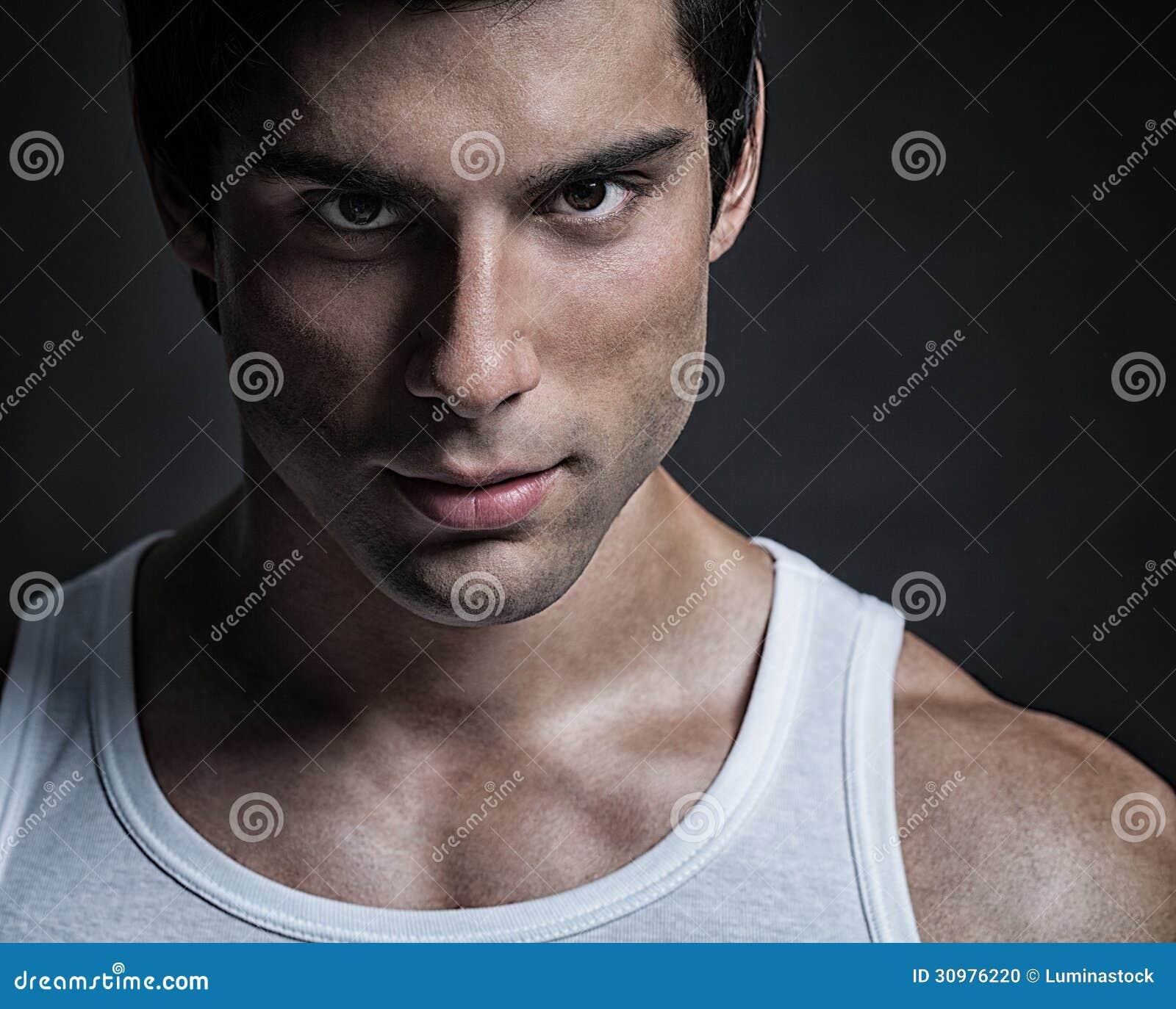 Knap Mannelijk ModelPortrait