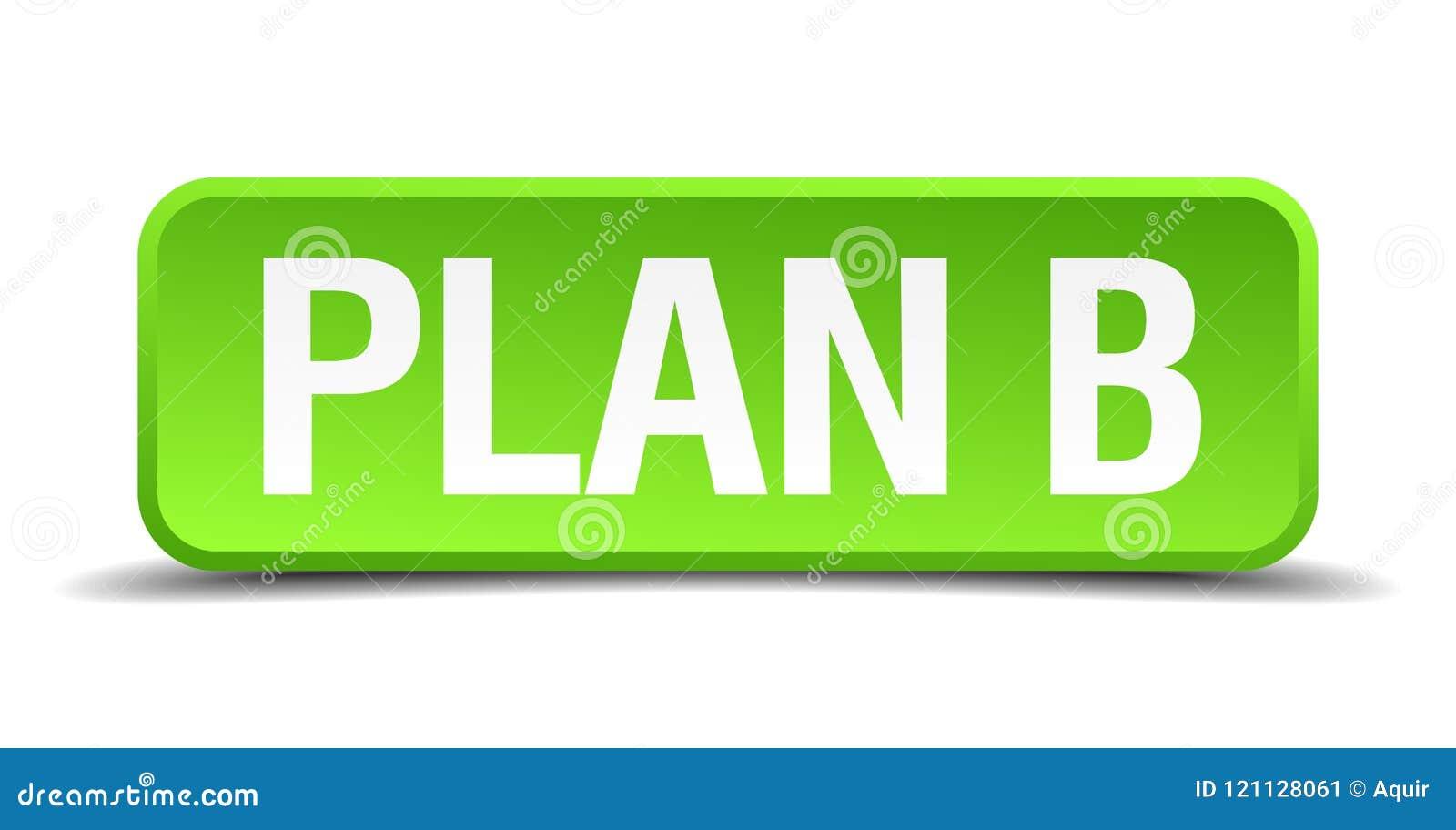 Knapp för plan b