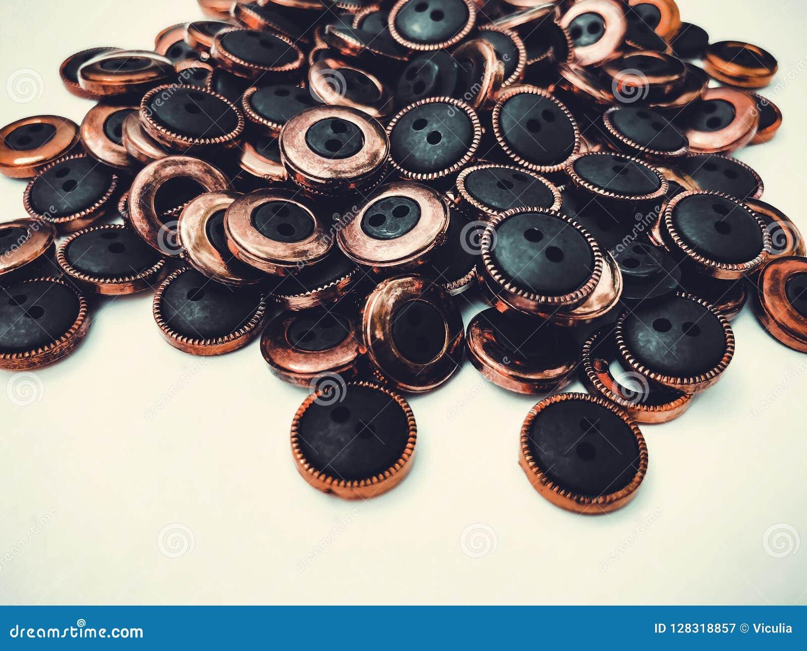 Knappar massor av knappar Knappar för att sy och hantverk