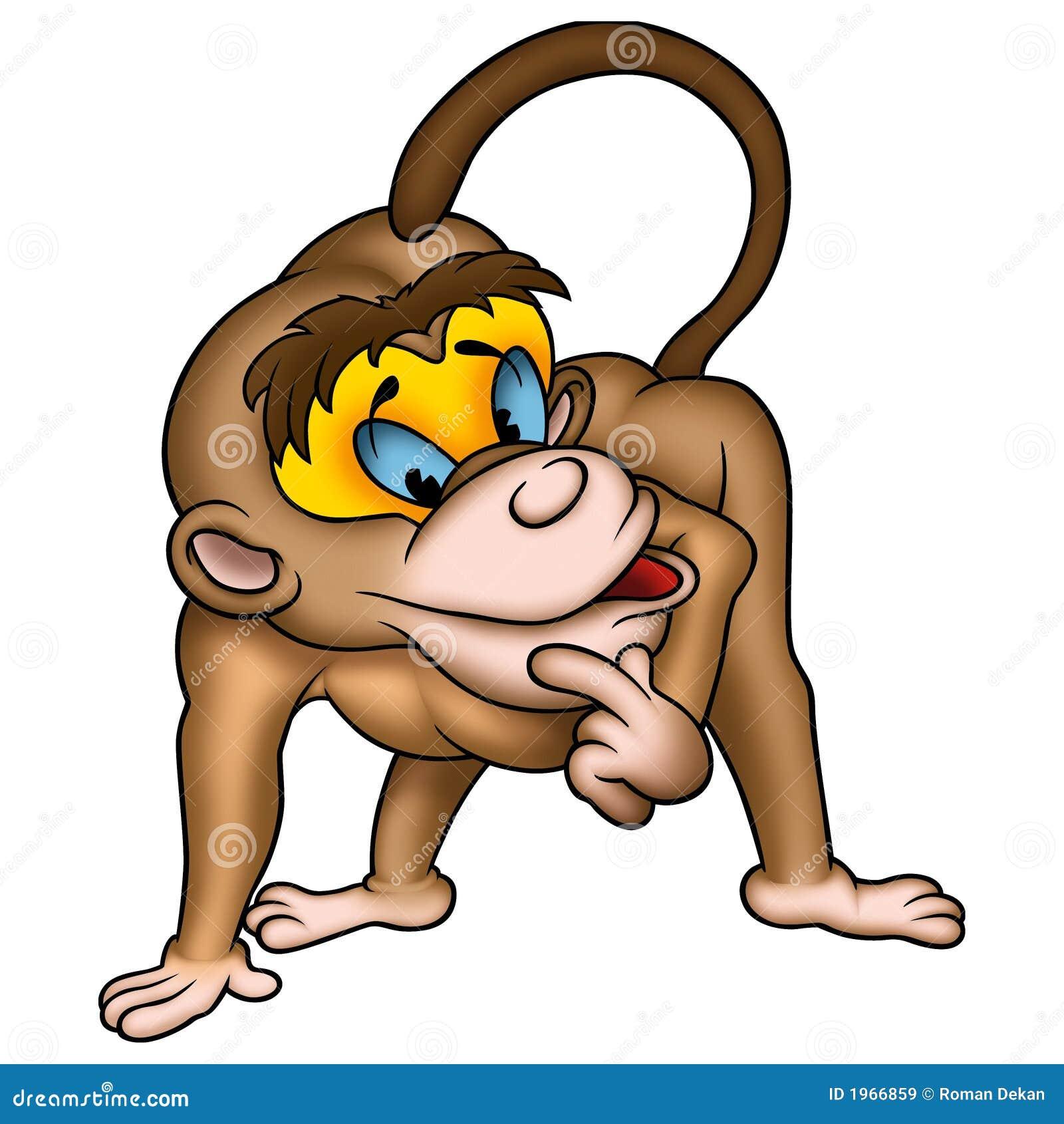 Knappe aap