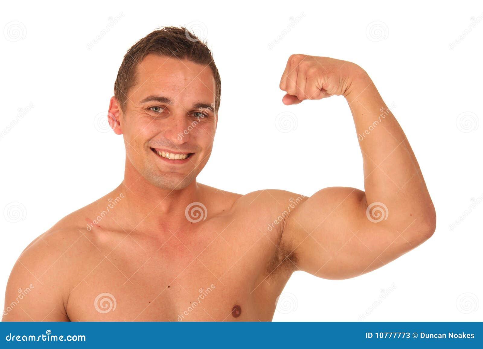 Knappe Bodybuilder