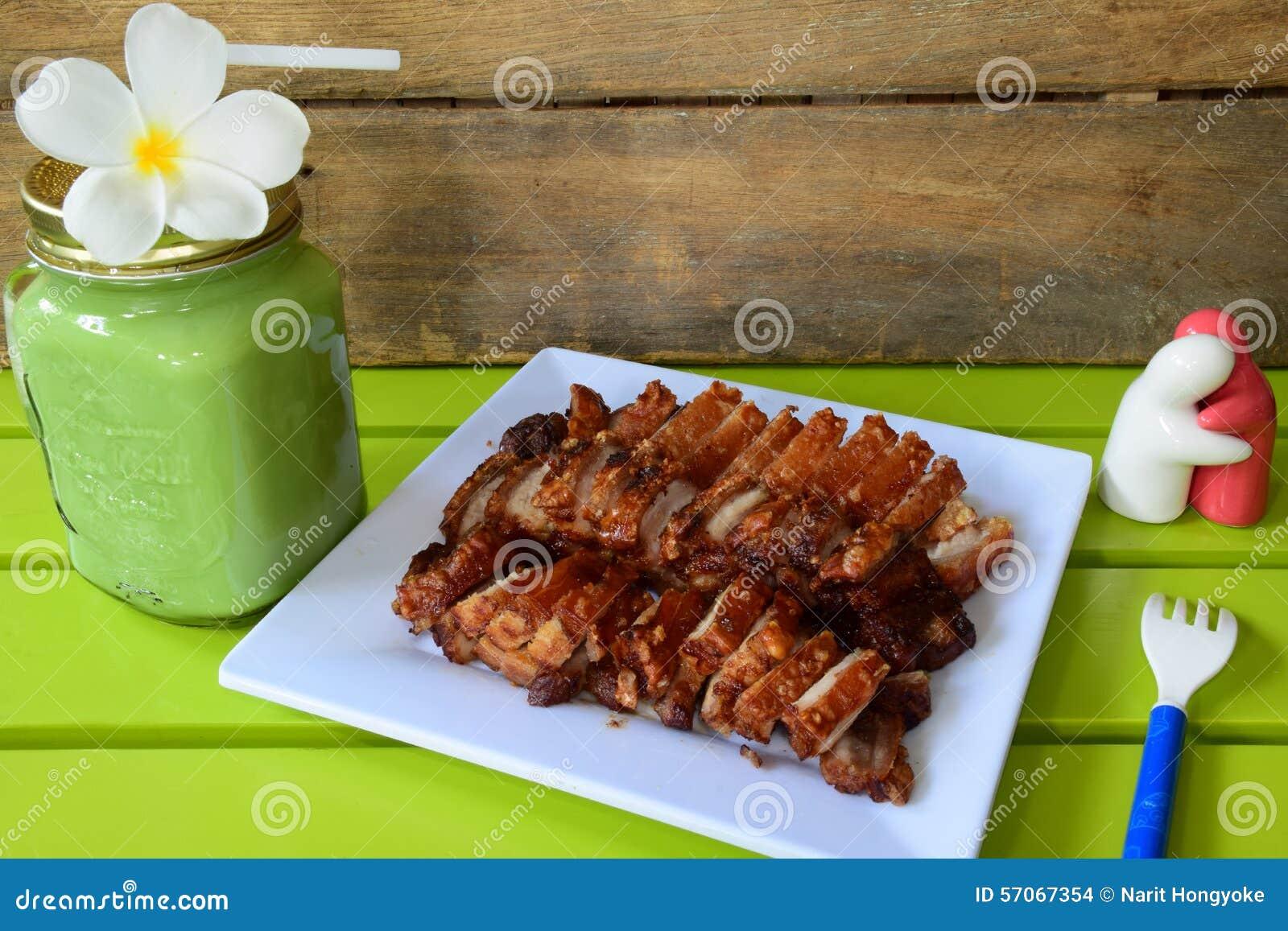 Knapperig varkensvlees