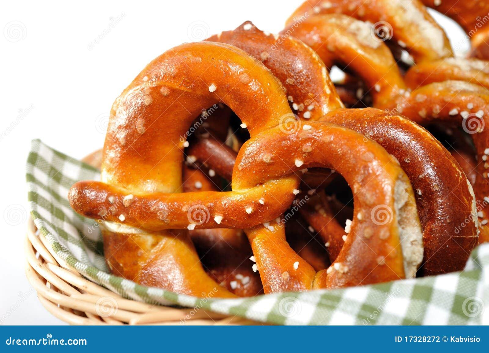 Knapperige pretzels