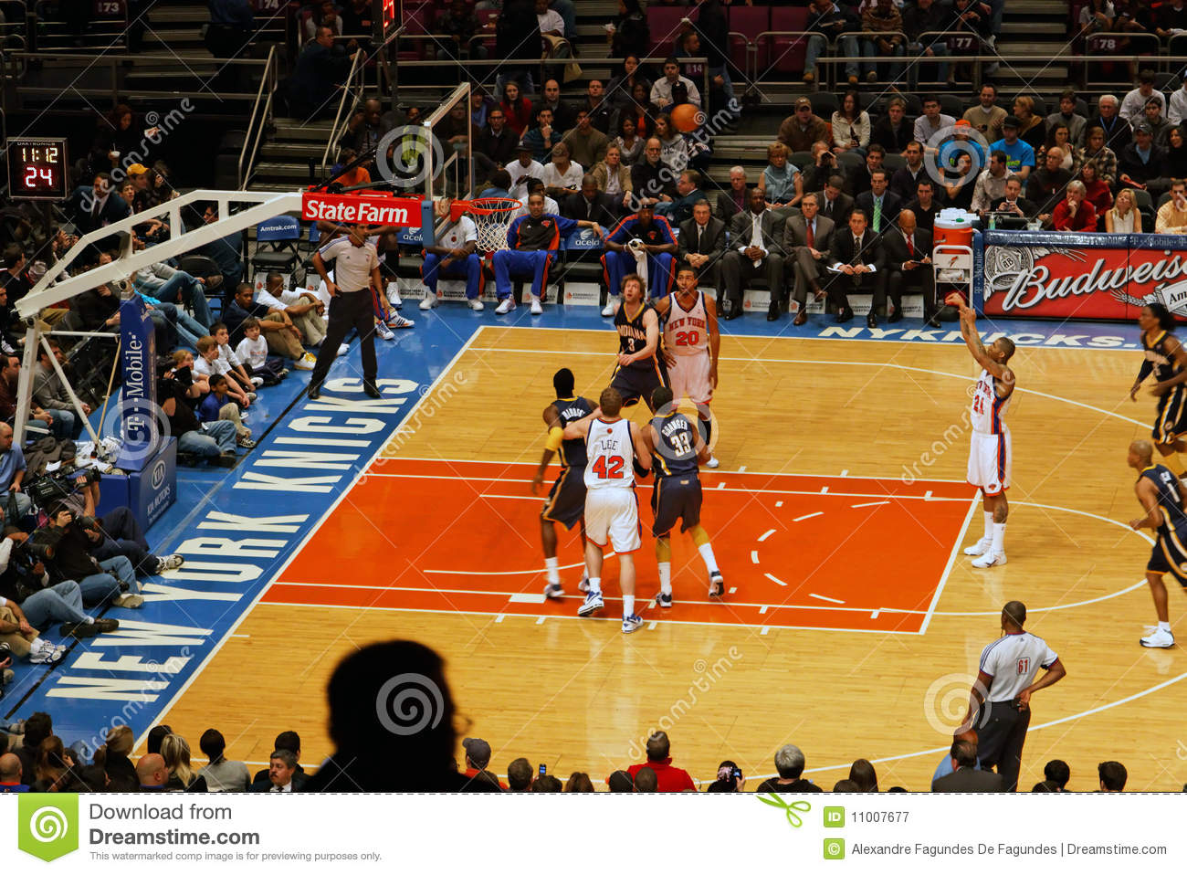 Knicks x Indiana Pacers Madison Square Garden