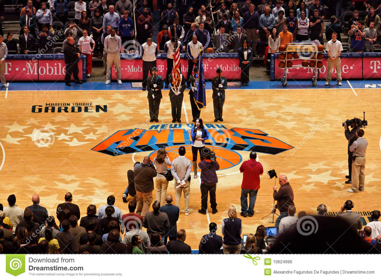 Knicks X Indiana Pacers Madison Square Garden Editorial Photo Image 10624996