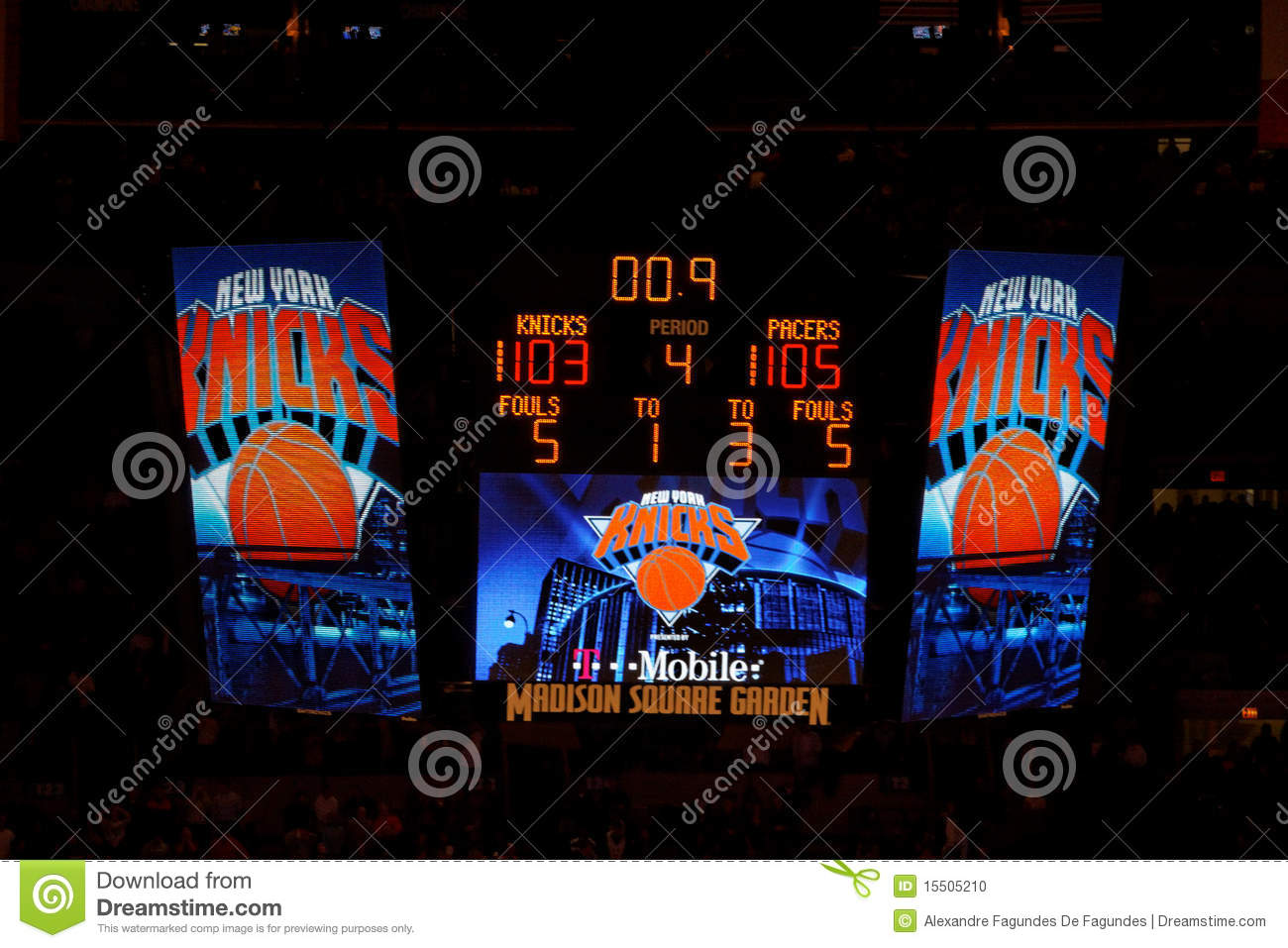 Knicks X Indiana Pacers Madison Square Garden Editorial Image Image 15505210