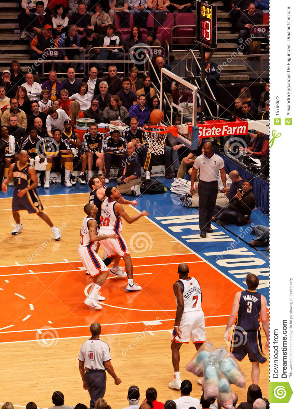 Knicks X Indiana Pacers Madison Square Garden Editorial Photography Image 15798922