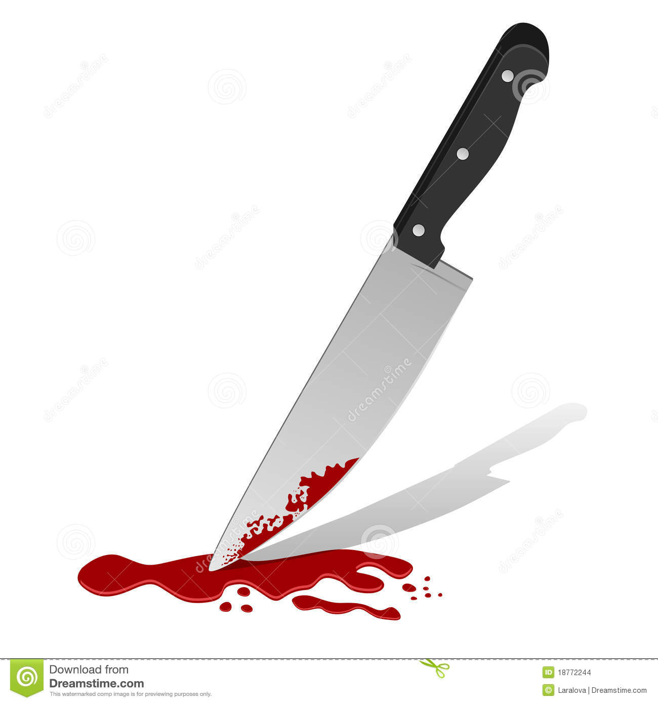 knife with blood stock images image 18772244 Bloody Butcher Knife Bloody Knife in Heart