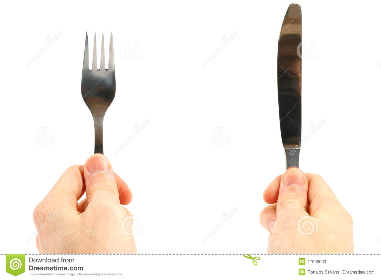 how to eat prawns with fork and knife