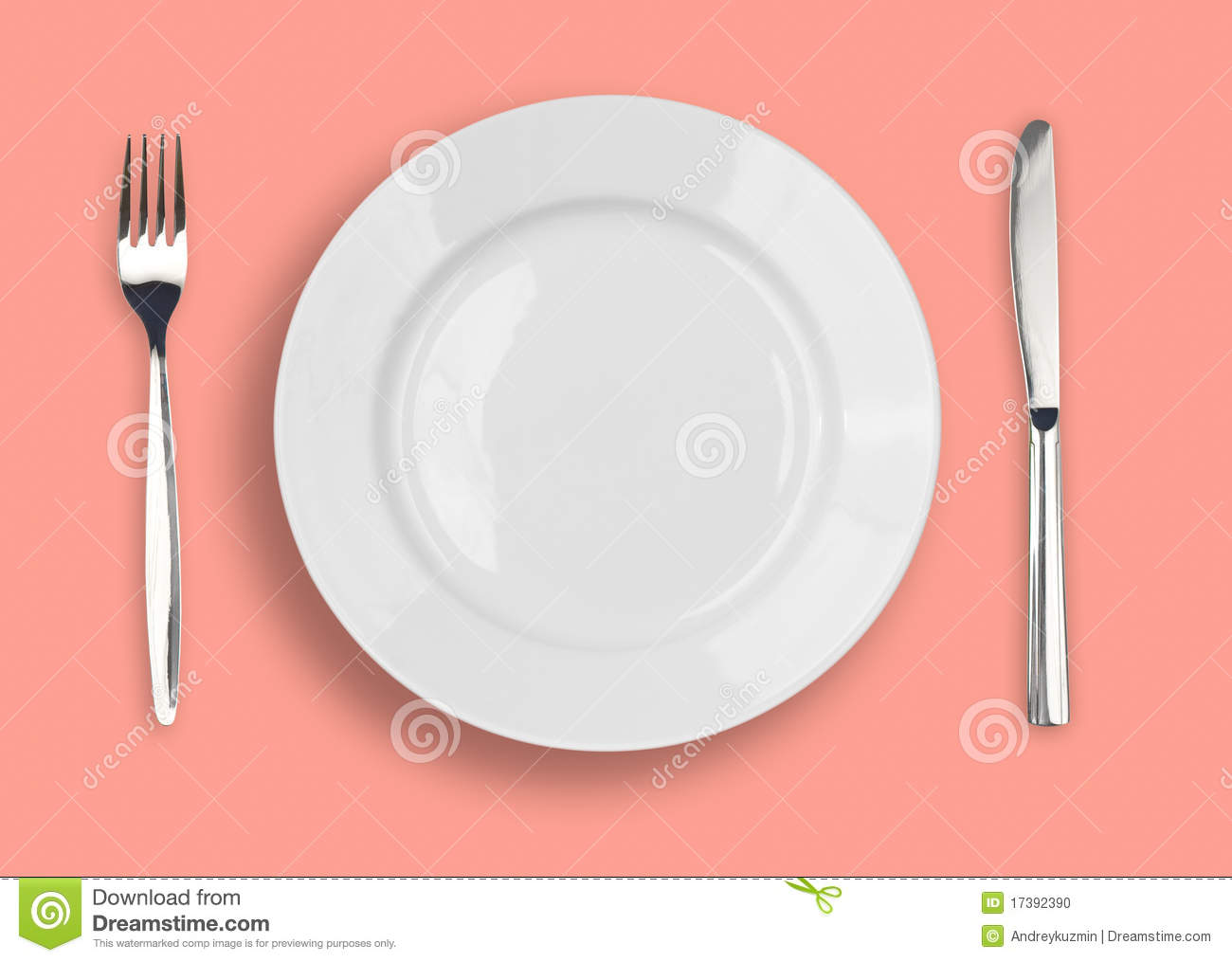 knife white plate and fork on pink background stock photo image background fork knife pink
