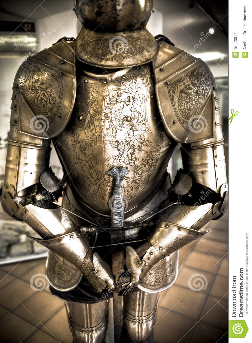 knight armor stock images image 15473014