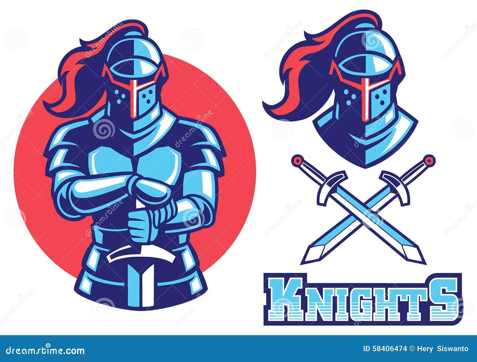 Knight Mascot Logo Related Keywords - Knight Mascot Logo ...