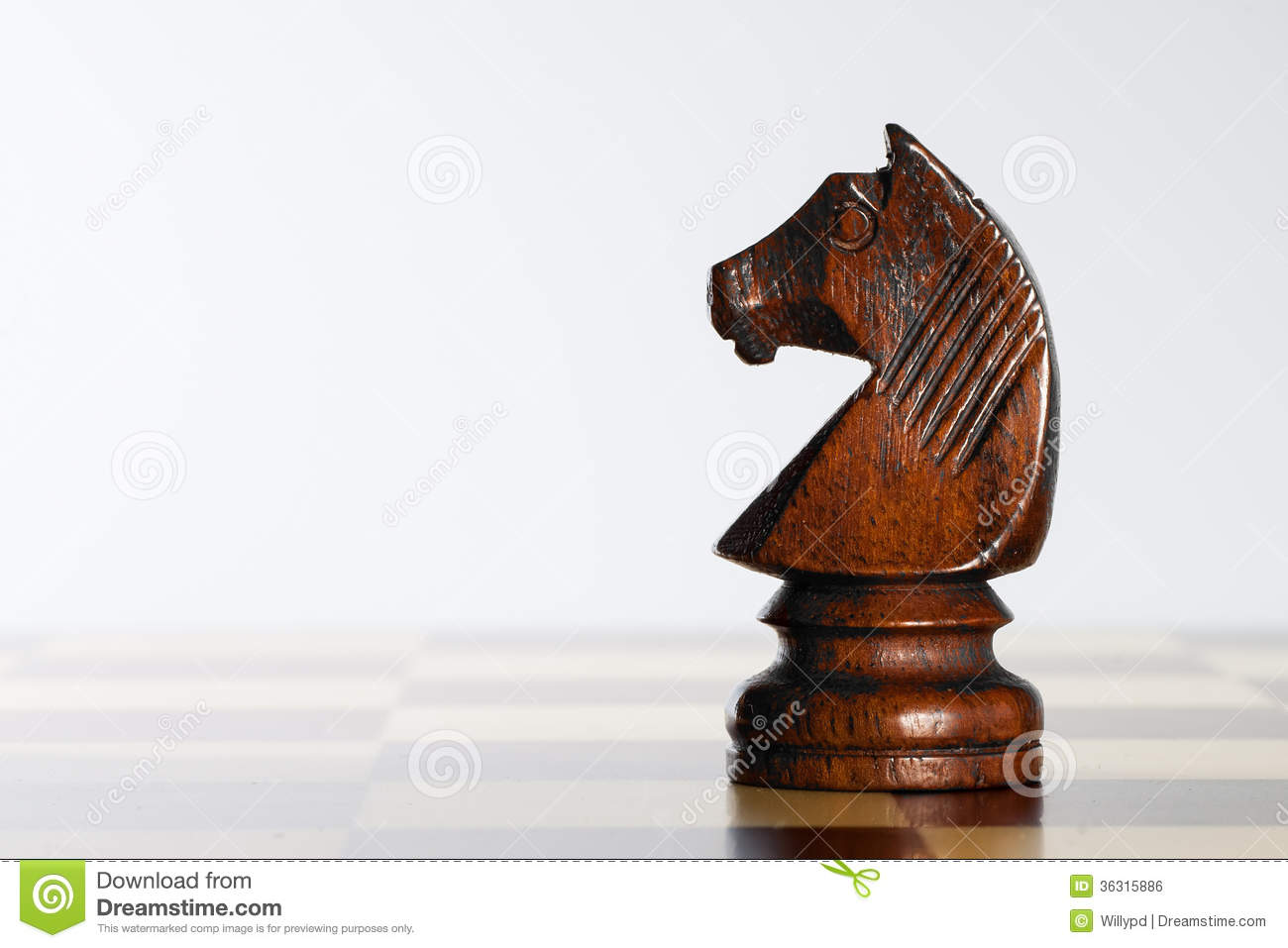 how to draw a knight chess piece