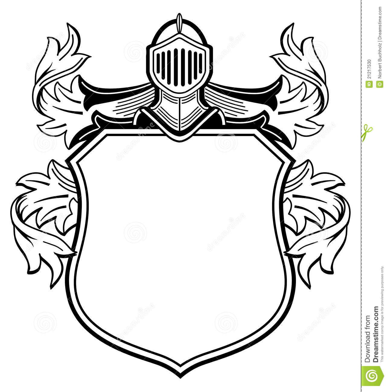 Knight With Coat Of Arms Stock Photo Image 21217530