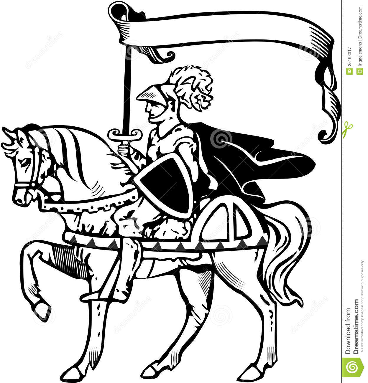 Royalty Free Stock Photography: Knight. Image: 35193017