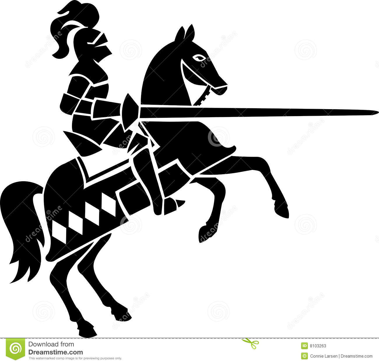 Knight On Horseeps Stock Photos Image 8103263