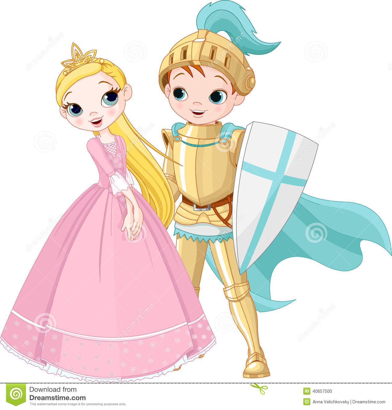 knight and princess stock vector image 40657500 fairy tale clip art for kids fairy tale clipart border