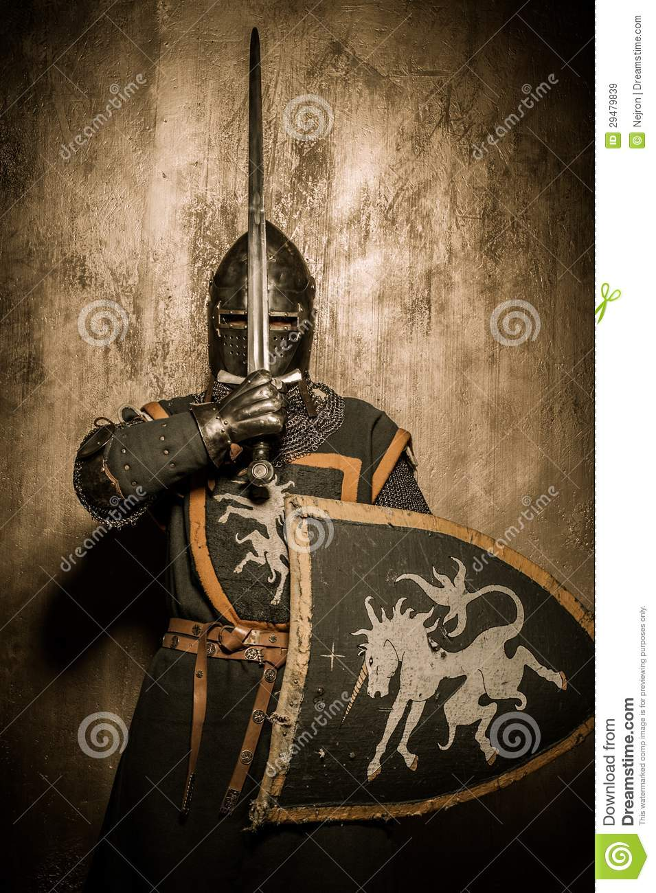 More similar stock images of   Knight with shield  Knight With Shield