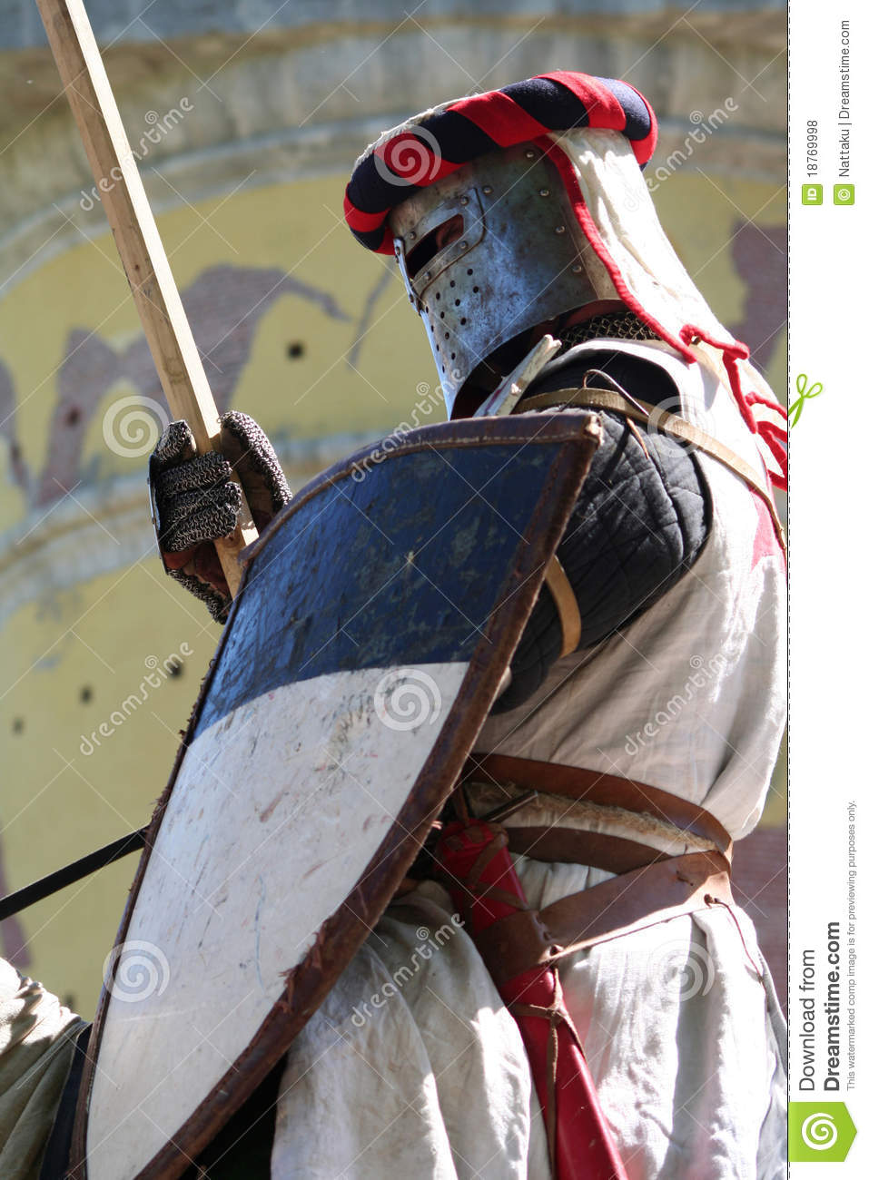 Knight Templar editorial stock photo  Image of courage