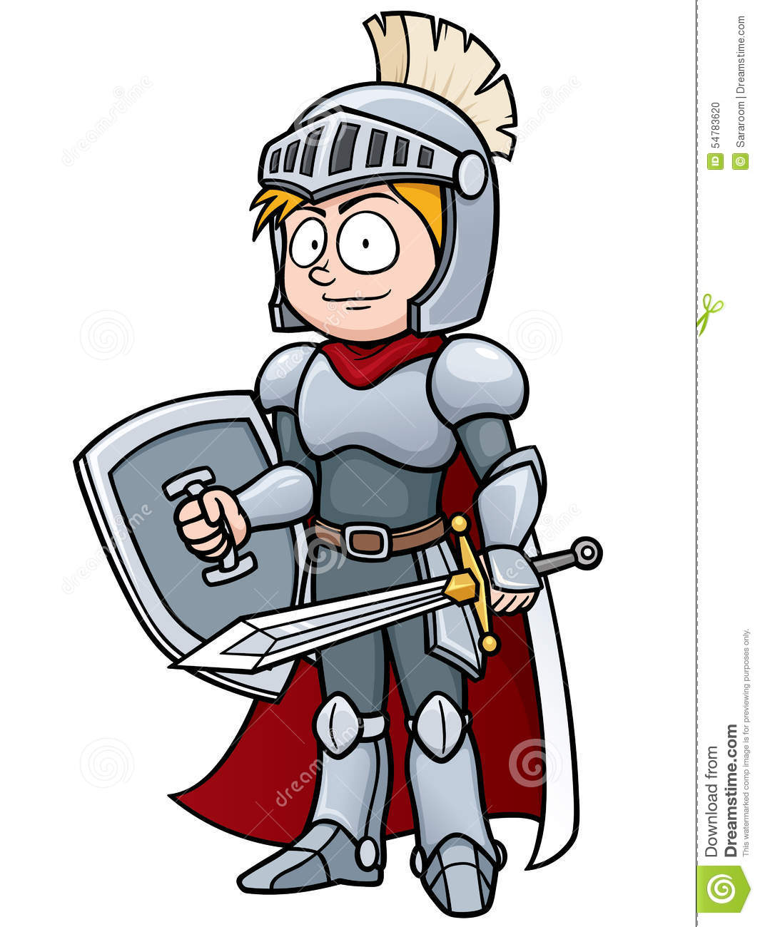 Knight Stock Vector - Image: 54783620