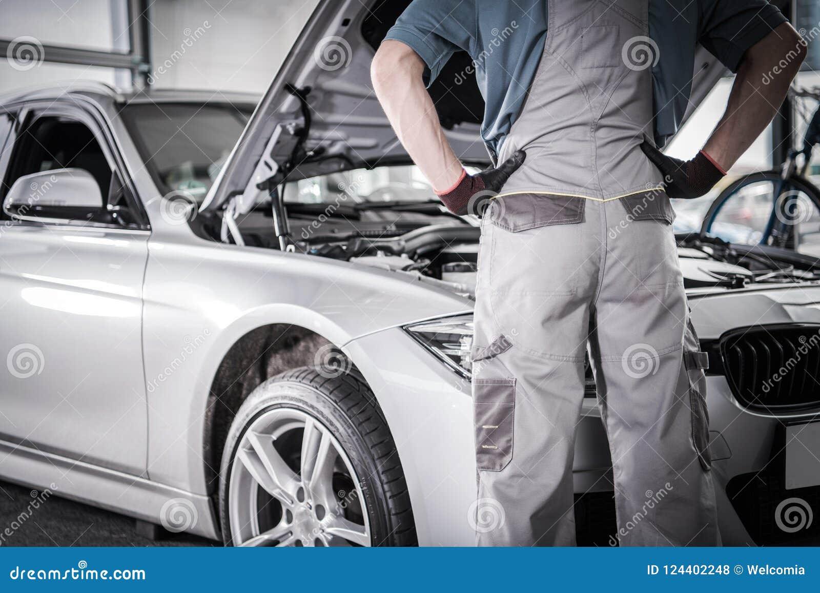 Knipa för bilgarantiåterkallelse