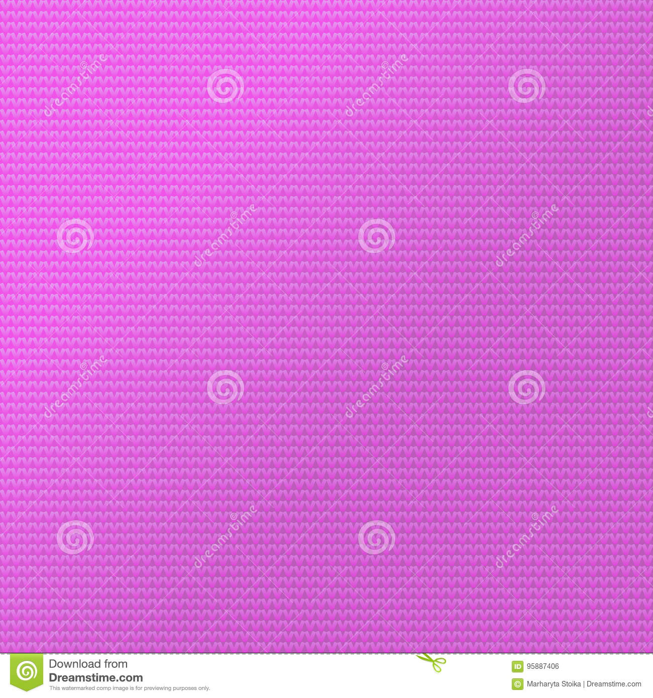 Knit Pattern Background. Sweater Fabric Pink Color. Stock Vector ...