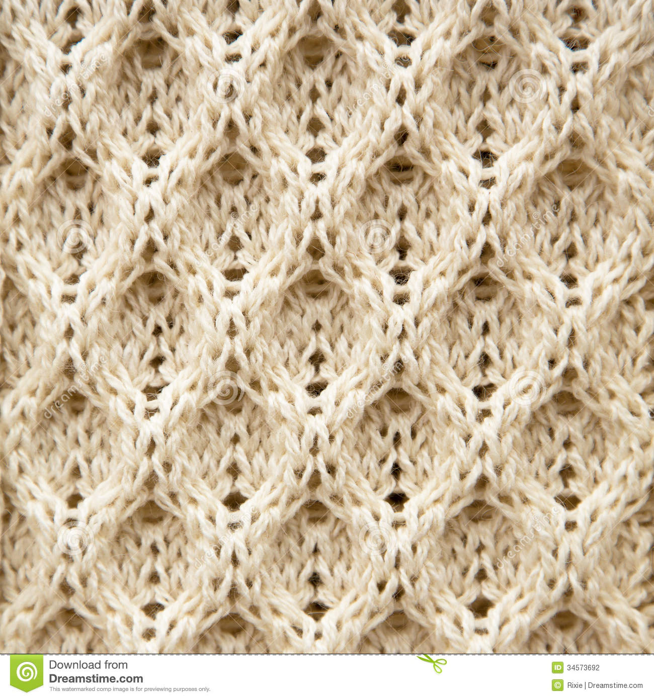 Wool Knitting Patterns : Knitted Aran Wool Background Stock Photography - Image: 34573692