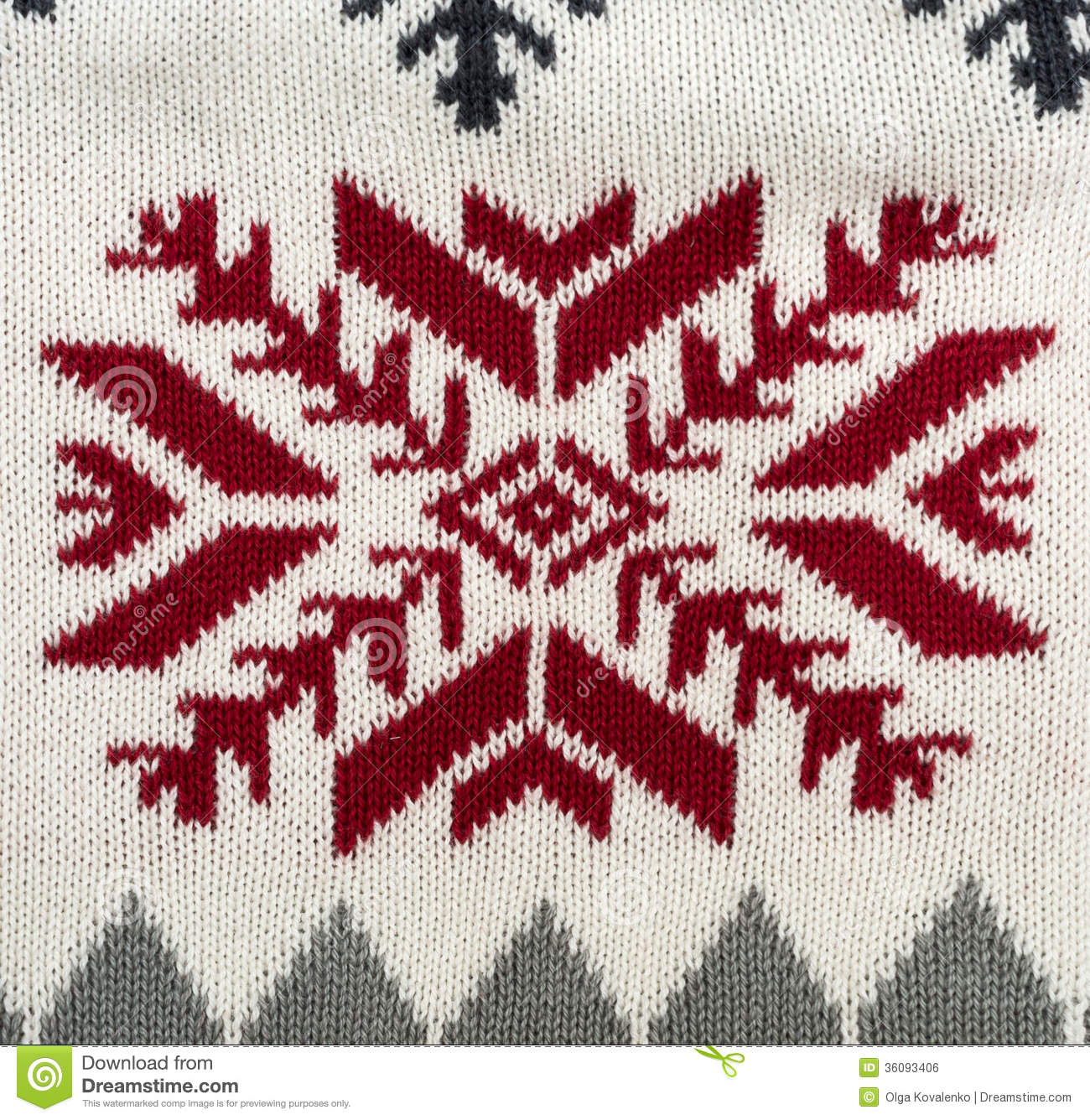 Christmas Knitting Background : Knitted background royalty free stock image