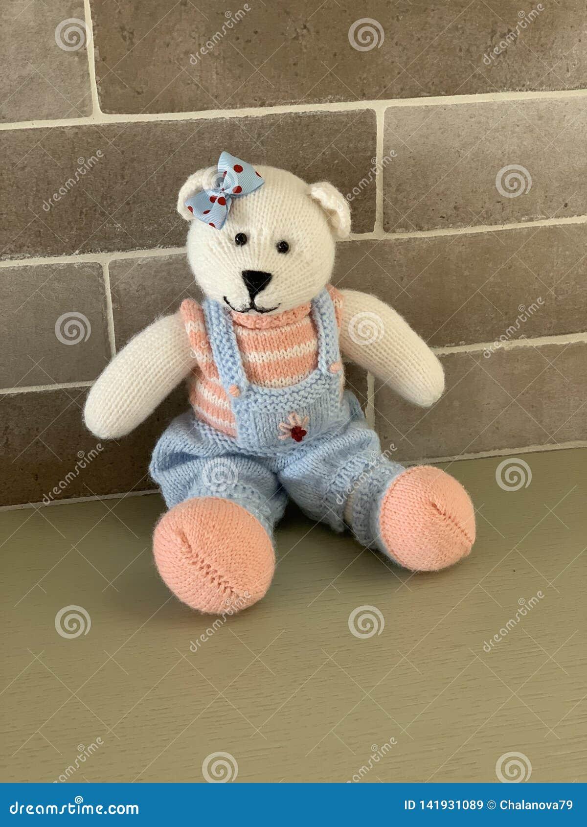 Crochet Teddy Bear Girl - Gift for Girl - Cute Stuffed Animals ... | 1689x1200