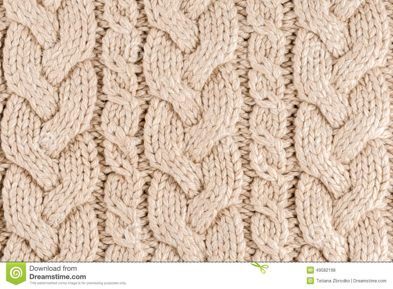 Knitted Fabric Texture Stock Photo  Image 49582198