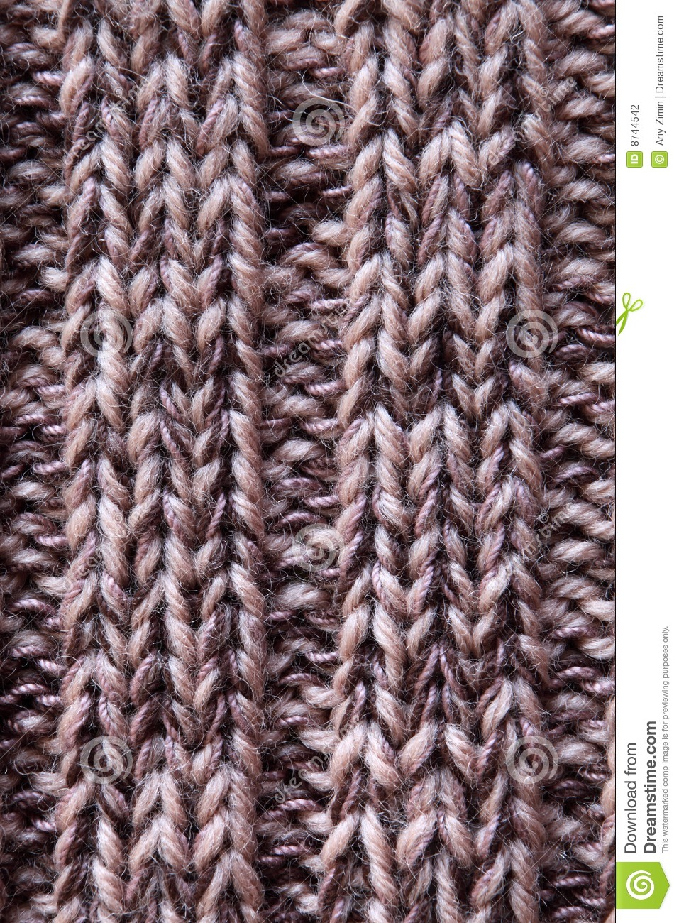 Knitted Pattern Stock Photography - Image: 8744542