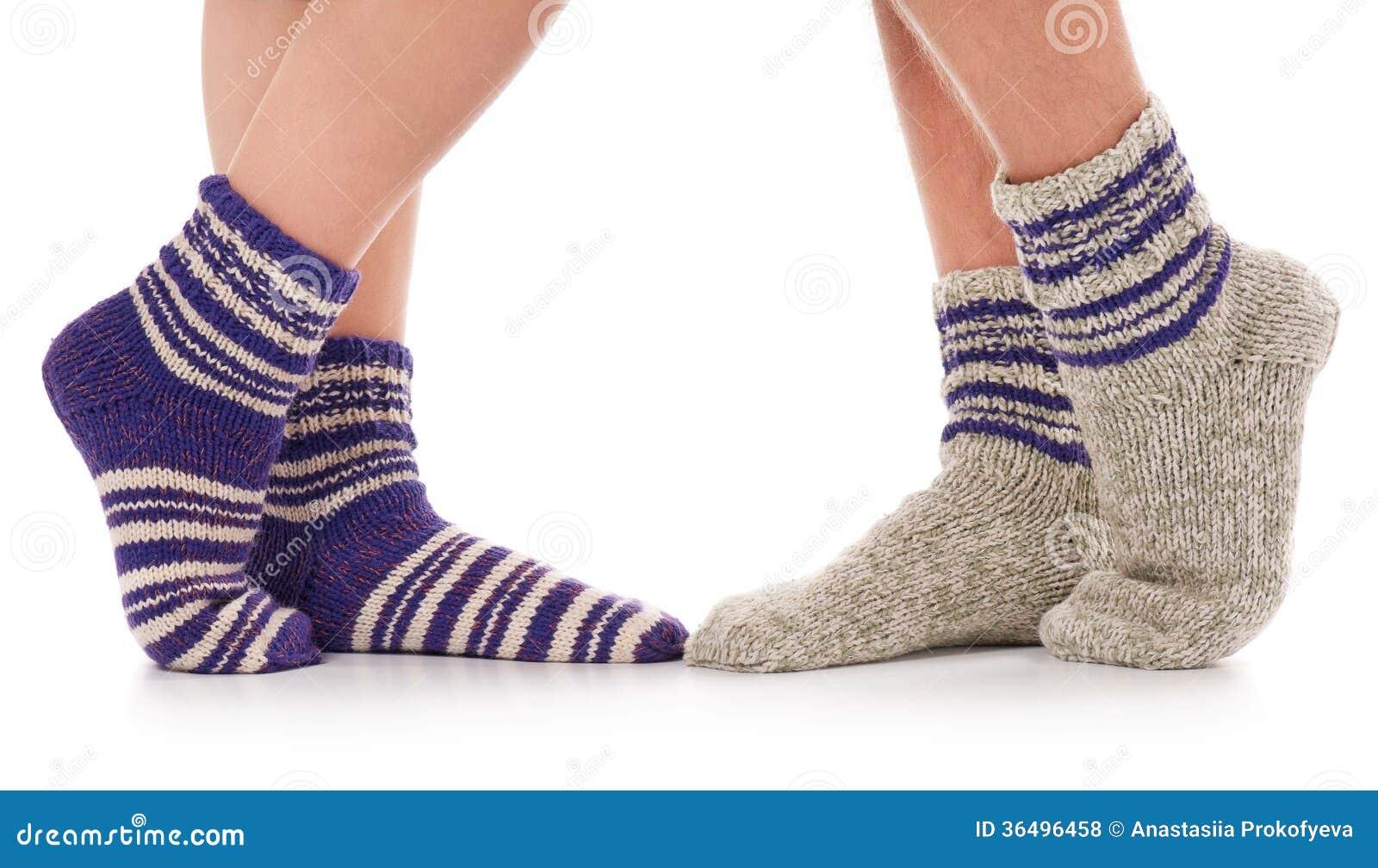 Knitting Pattern For Diabetic Socks : Knitted Socks Royalty Free Stock Photos - Image: 36496458