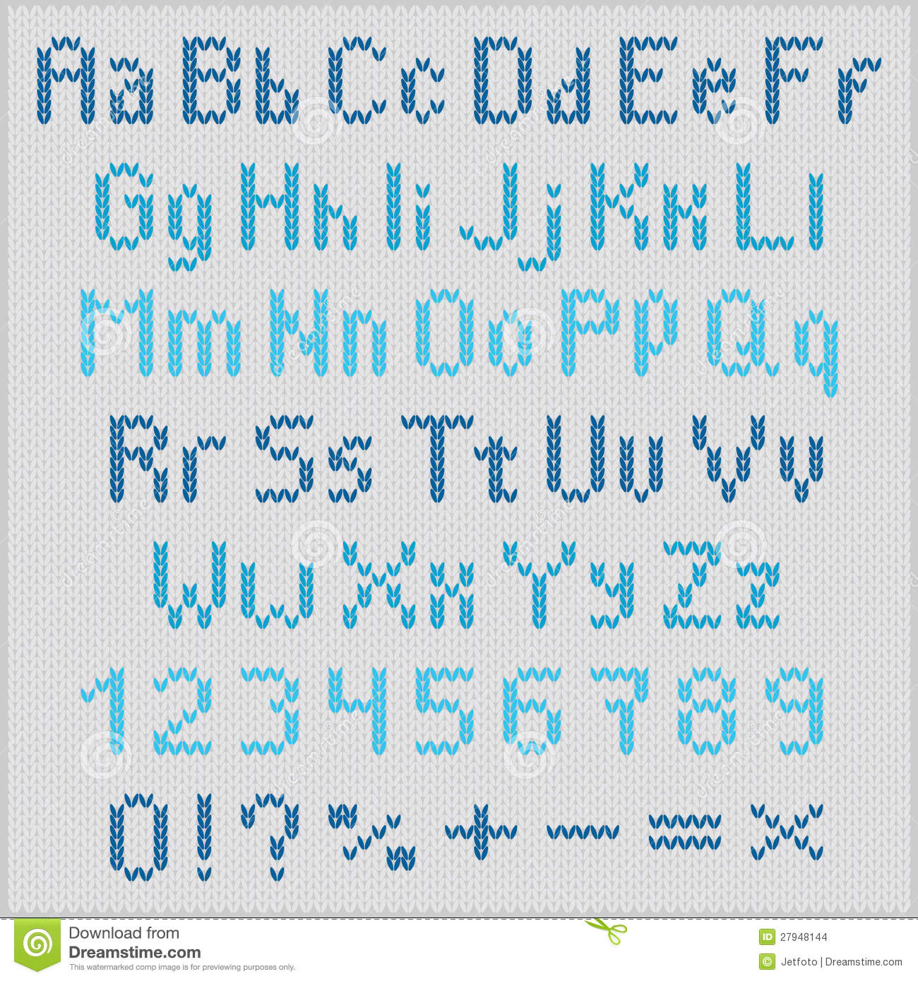 Knitting Embroidery Letters : Embroidery alphabet charts and on pinterest