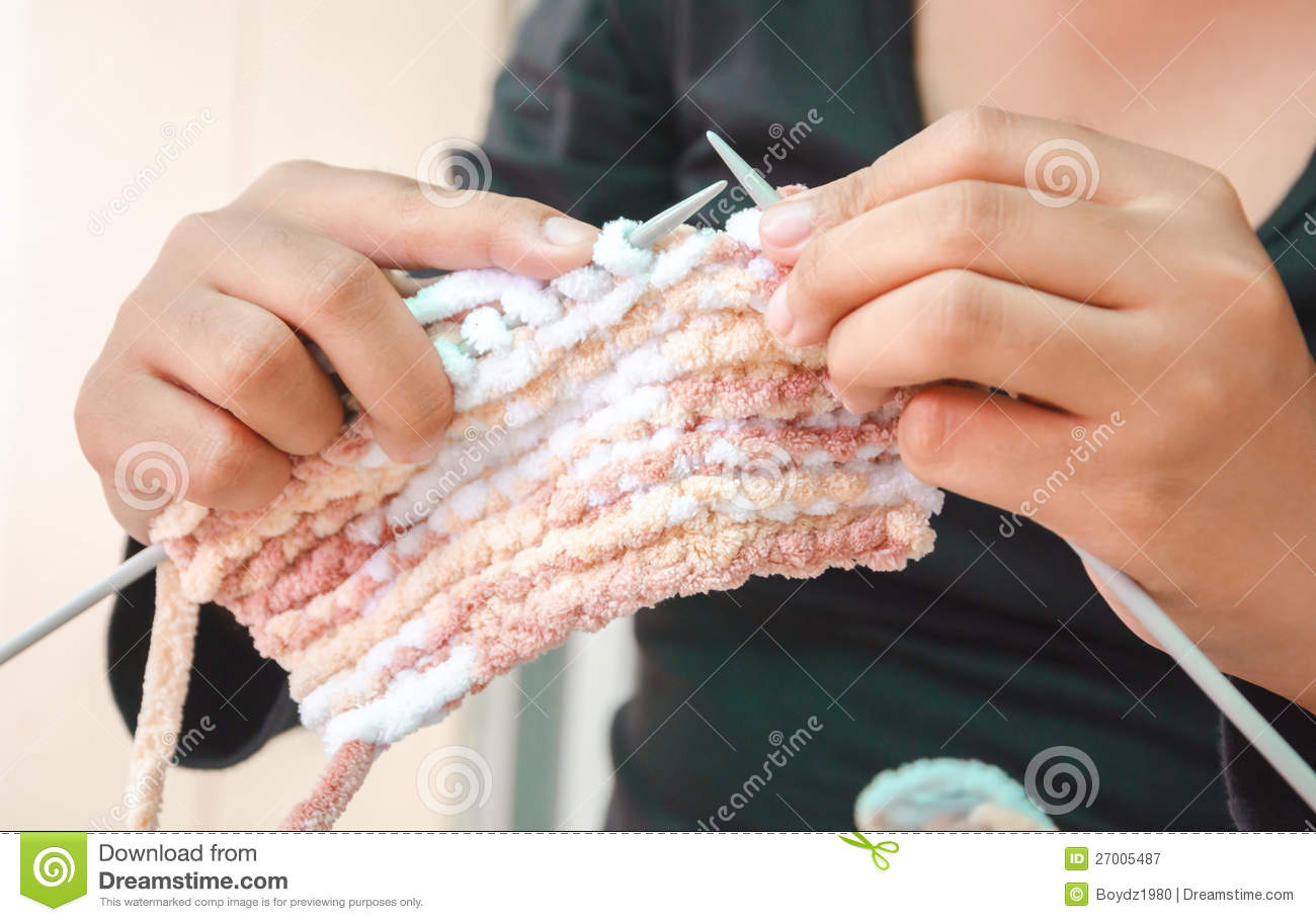 knitting royalty free stock photography image 27005487