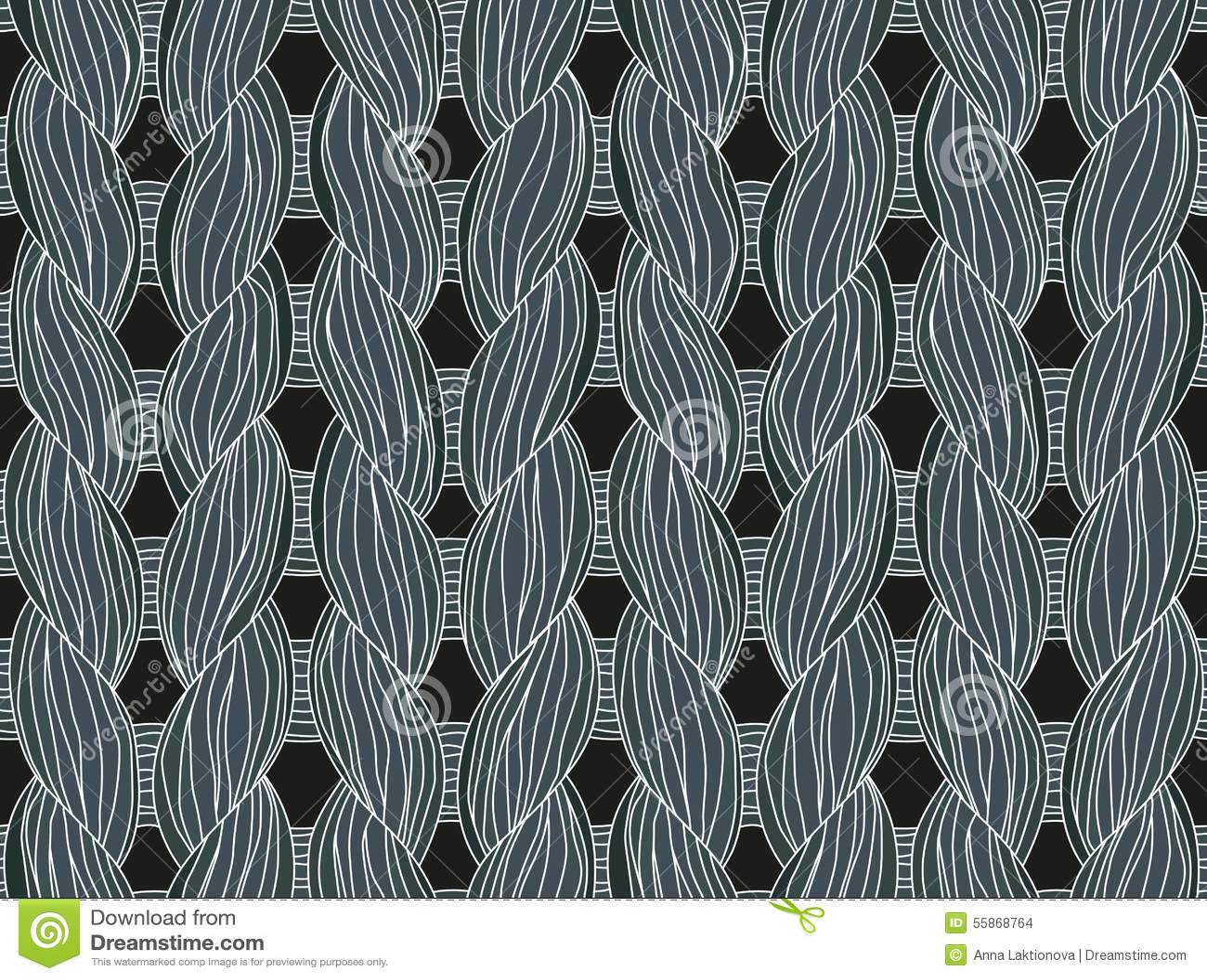 73142ecb0 Knitting close-up stock vector. Illustration of interweaving - 55868764