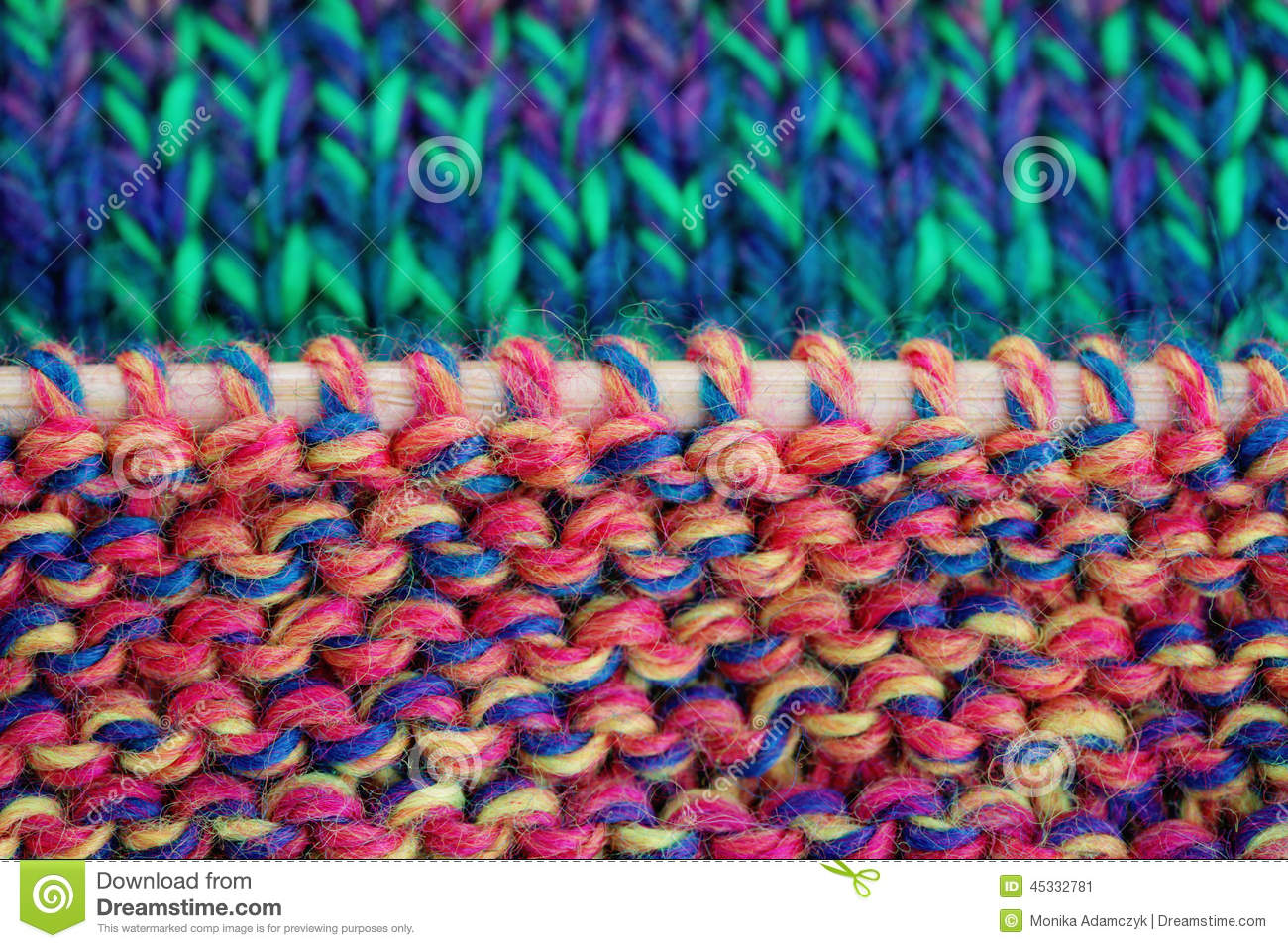 knitting stock photo image 45332781