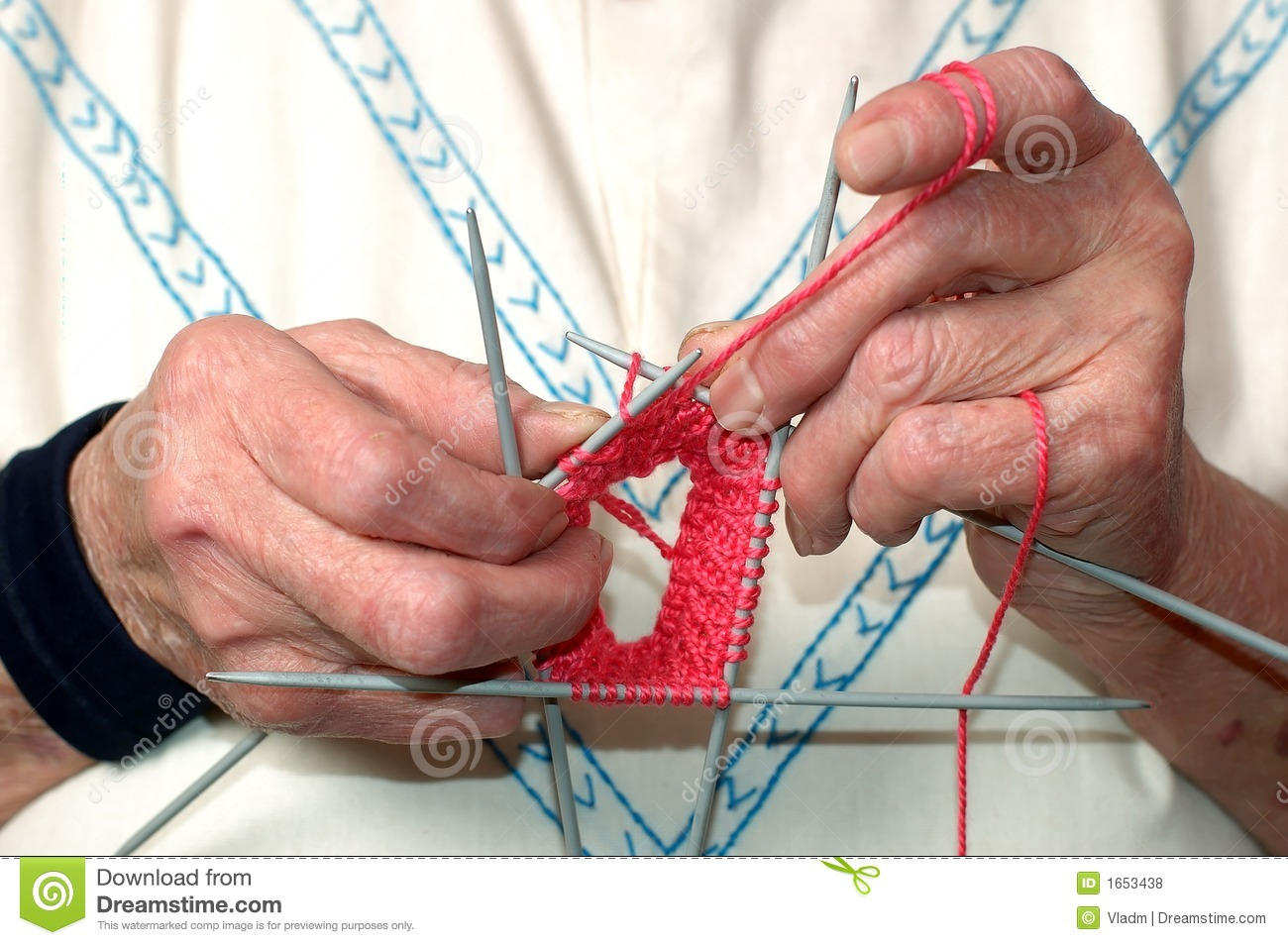 Knitting With Hands Only : Knitting hands royalty free stock photos image