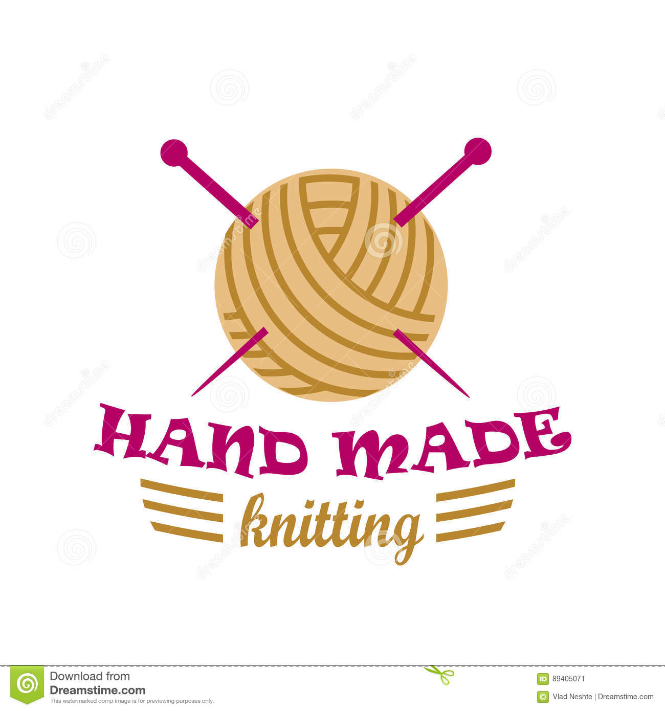 Knitting Hands Clipart : Needles cartoons illustrations vector stock images