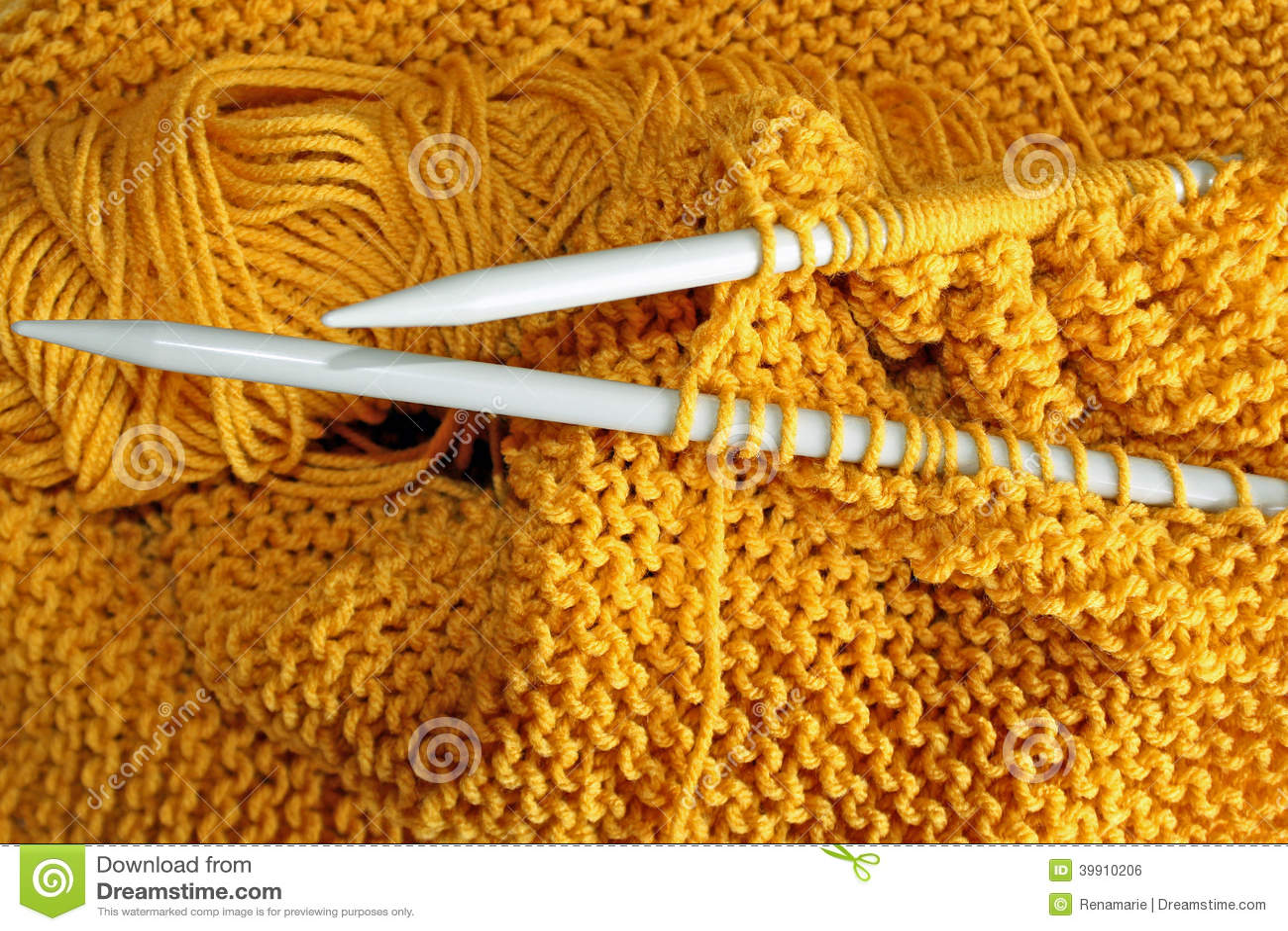 Knitting Stock Photo - Image: 39910206