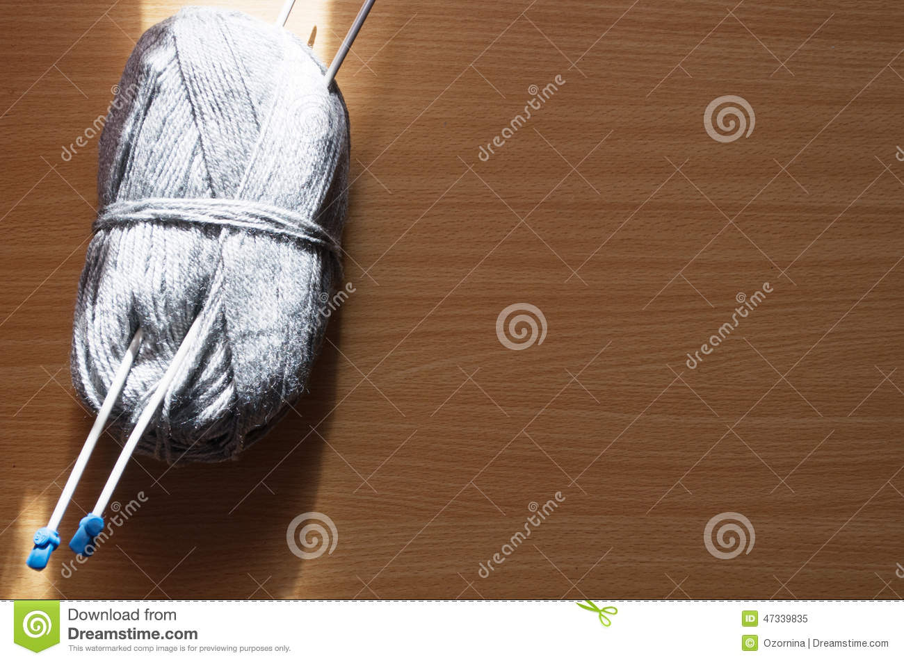Knitting on the table stock photo image 47339835 for Table knitting