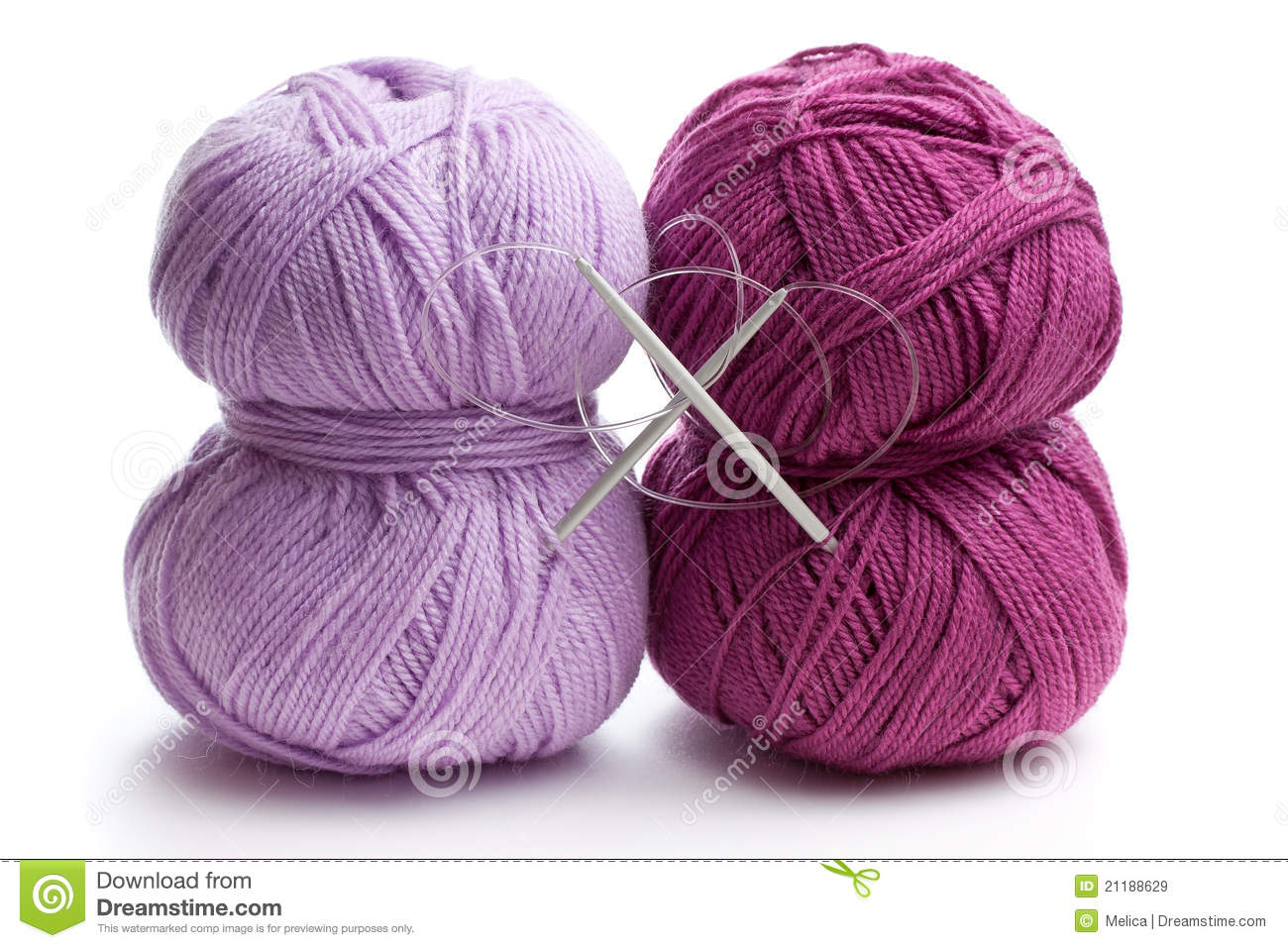 Royalty Free Stock Images: Knitting Yarn