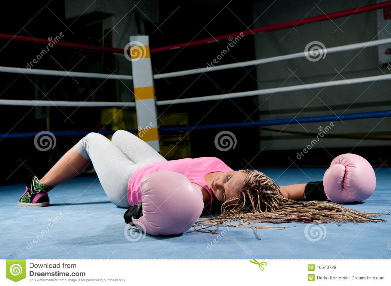 That Picture of knocked out women