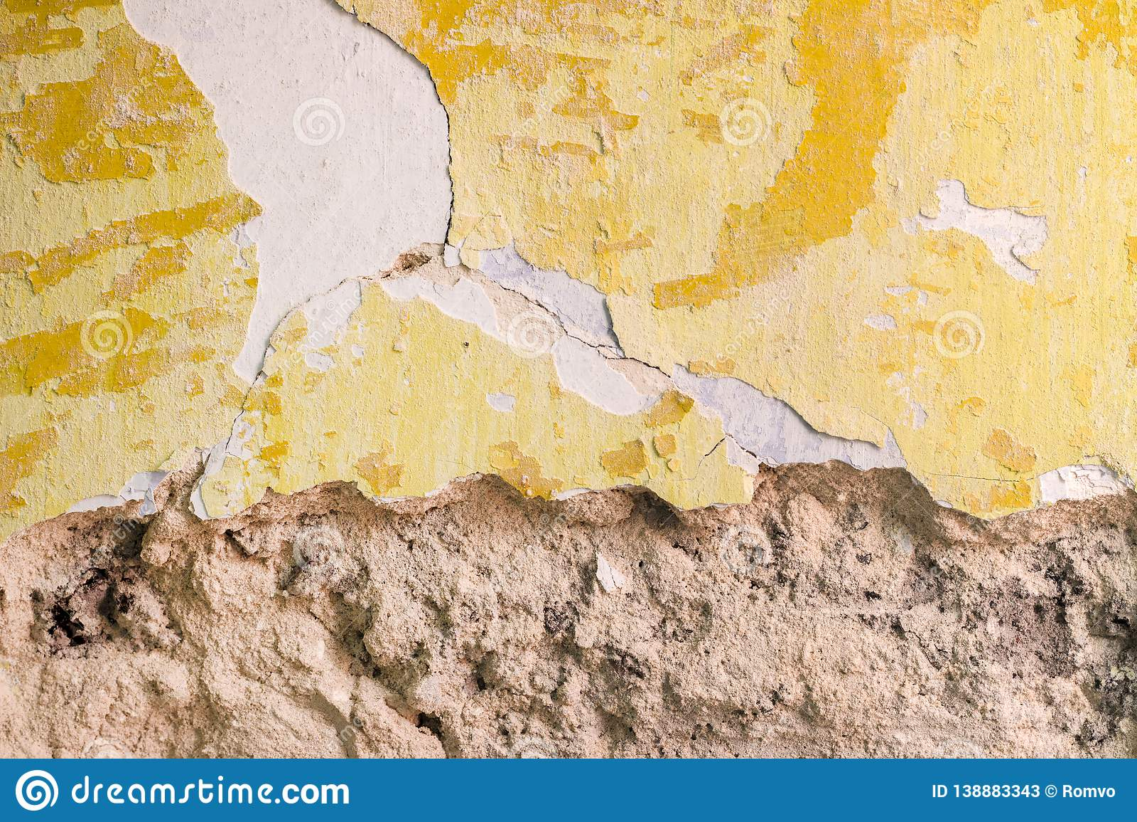 Knocking Wall Plaster Repair Stock Image - Image of board