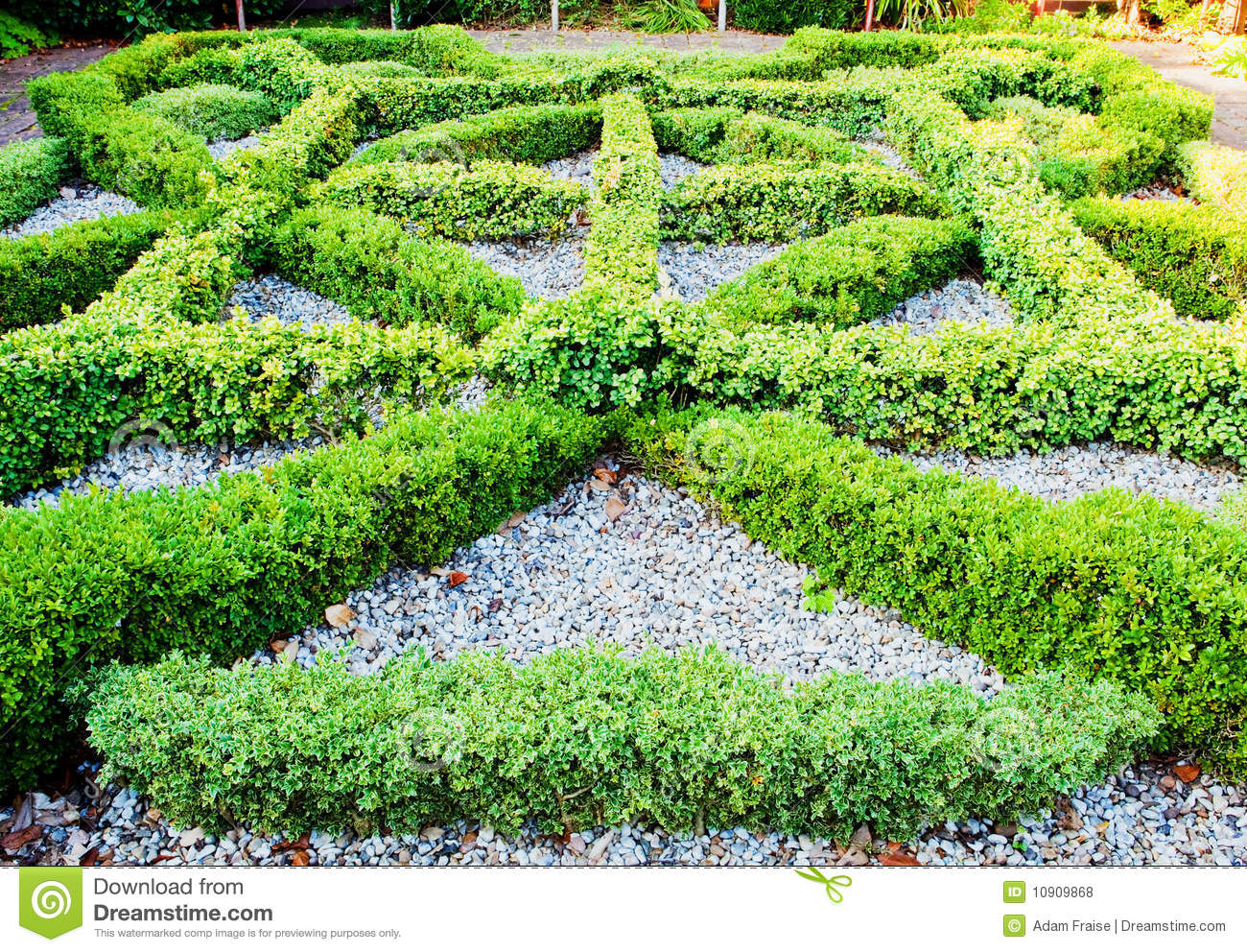 Knot garden royalty free stock photos image 10909868 for Tudor knot garden designs