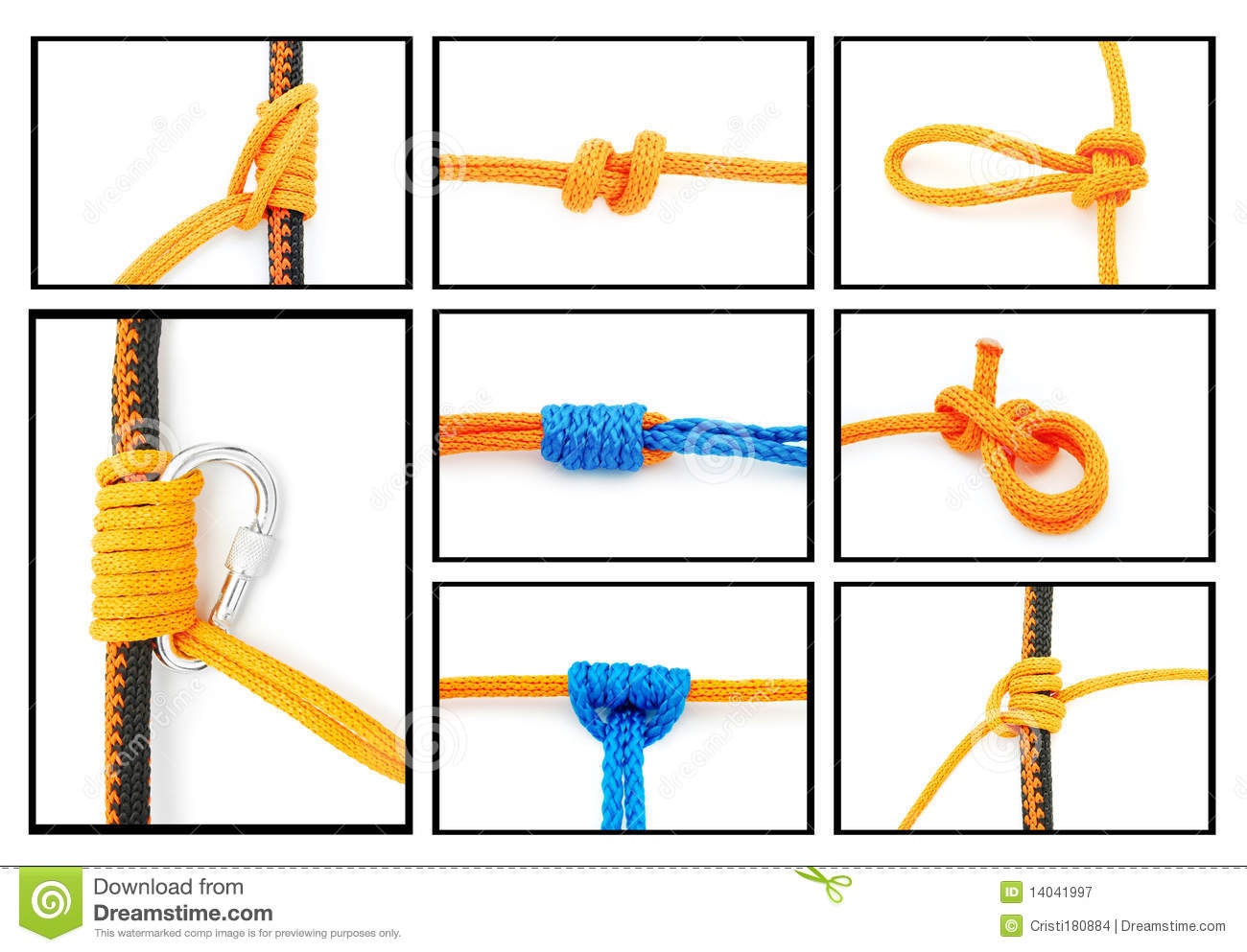 Knots collage